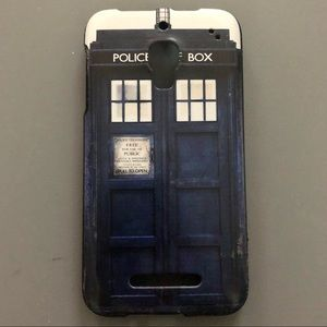 Doctor Who Tardis Alcatel One Touch Phone Case